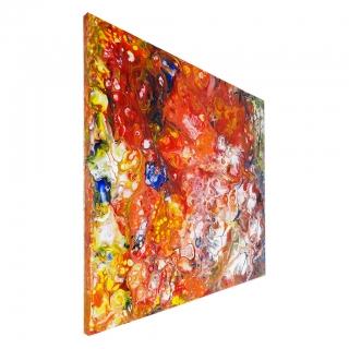 """Gemälde: """"Farbenfroh - Nr.1"""""""