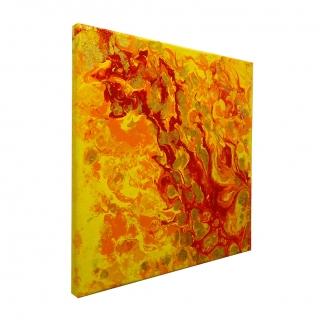 "Gemälde:  ""Feuer - Nr.1 – Entflammen"""