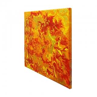 """Gemälde: """"Feuer - Nr.2 – Flächenbrand"""""""