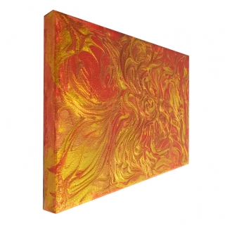 "Gemälde: ""Feuer - Nr.4"""