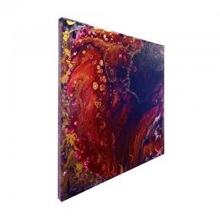 "Gemälde: ""Universum - Nr.2 - Energiefluss"""