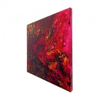 "Gemälde: ""Universum - Nr.3 - Planetengeburt"""