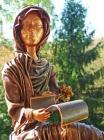 """Skulptur: """"Der Brief"""""""