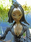 """Skulptur: """"Die Kämpferin"""""""