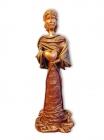 "Skulptur: ""Herzdame"""