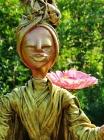 """Skulptur: """"Meditation"""""""