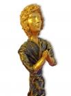 """Religiöse Skulptur: """"Die betende Frau"""""""