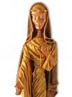 """Religiöse Skulptur: """"Die Liebe führe Dich"""""""