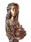 """Skulptur: """"Wasserträgerin"""""""