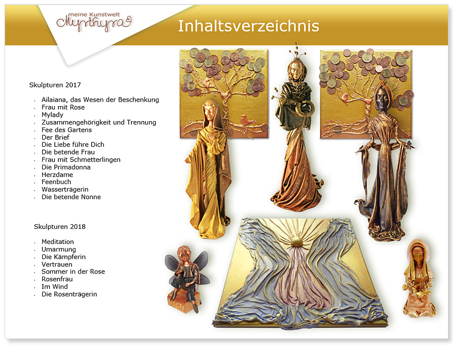 """Myrthyra"" meine Kunstwelt - Kunstwerk Präsentation 2018"